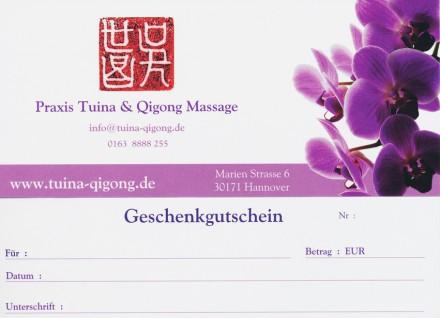 Massagegutschein Hannover